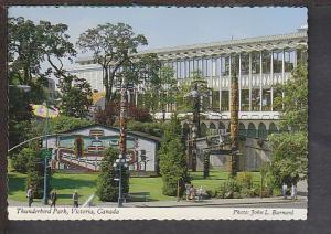 Thunderbird Park Victoria BC Canada Postcard BIN