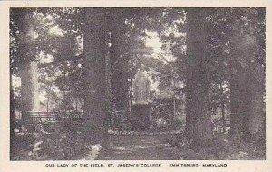Maryland Emmitsburg Our Lady of The Field St Josephs College Albertype