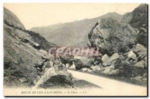 Old Postcard Luz Road has Gavarnie Chaos