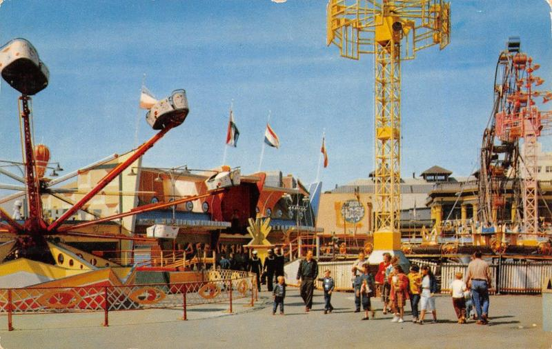 Long Beach~Octopus Ride~Laff in the Dark~Small Double Ferris Wheel~3 Sailors '58