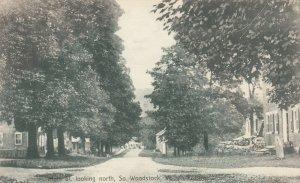 So. WOODSTOCK , Vermont , 1900-10s ; Main Street Looking North
