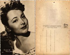 CPA AK OLIVIA DE HAVILLAND . Film Star Cinema (464589)