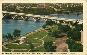 Canada, Saskatchewan, Broadway Bridge, Kiwanis Park, and Vimy Memorial