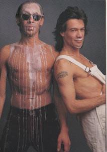Advertising Drink Milk Where's Your Mustache Alex and Eddie Van Halen