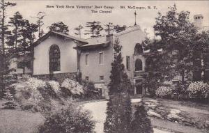 New York Mount Mcgregor New York State Veterans Rest Camp The Chapel Albertype