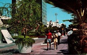 Florida Miami Beach The Lincoln Road Mall