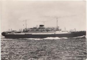 M/n Vulcania, (24.495 tonn), 1961 used Postcard