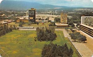 Mexico Postcard Tarjeta Postal Vista Parcial, Ciudad Universitaria