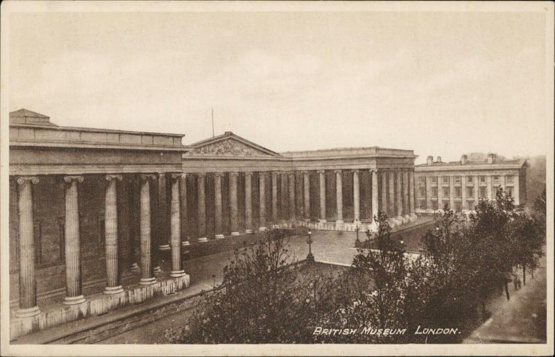 British Museum London real Photogravure Philco