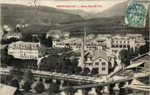 CPA PONTARLIER - Usine Pernod Fils (131244)