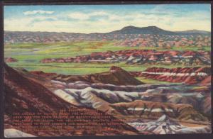 The Painted Desert,AZ,Larsen Postcard