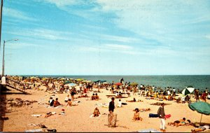 Delaware Rehoboth Beach Greetings Showing Beach