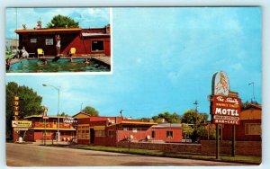 HAVRE, Montana MT ~ Roadside THE SHANTY MOTEL 1970 Hill County  Postcard