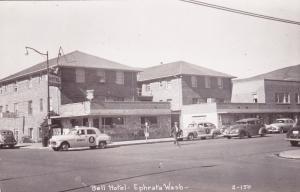 RP: Main Street Bell Hotel , EPHRATA , Washington , 30-40s