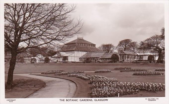 Scotland Glasgow The Botanic Gardens Photo