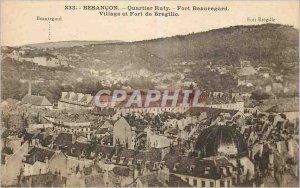 Postcard Besancon Old Quarter Ruty Fort Beauregard and Fort Village Bregille