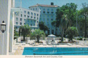 Sheraton Savannah Inn And Country Club With Pool Savannah Georgia
