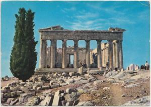Greece, Athens, The Parthenon, 1967 used Postcard