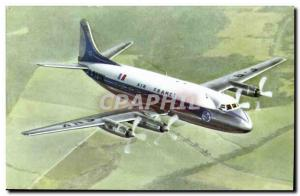 Air France Vickers Viscount Postcard Modern engines Rolls Royce Jet Plane