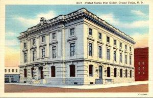 North Dakota Grand Forks Post Office 1948 Curteich