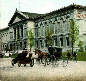 Vtg Postcard 1900s UDB Chicago Illinois IL Illinois chicago Art Institute Unused