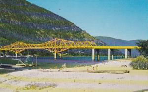 Canada Bridge To Kootenay Ferries Nelson British Columbia