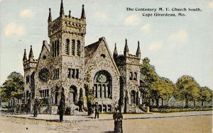 Cape Girardeau Missouri~Centenary Methodist Episcopal ME Church~Ladies~1914 PC