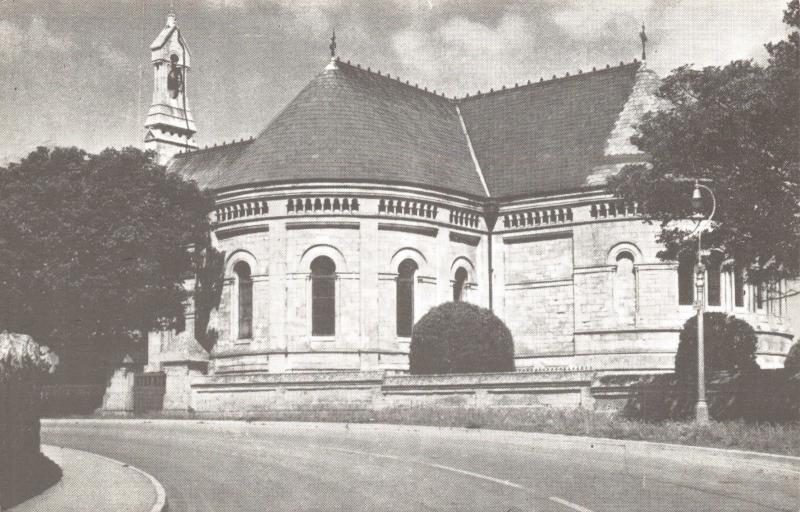 Postcard St Peters Church The Grove Portland Dorset I29
