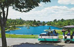 Beaver Lake Minitaure Train , Montreal , Quebec , Canada , 50-60s