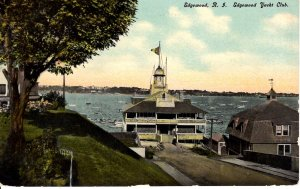 Rhode Island, Edgewood - A view of the Edgewood Yacht Club - c1908