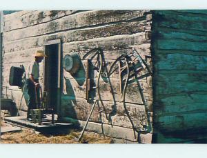 Unused Pre-1980 MUSEUM SCENE West Fargo North Dakota ND hr0153