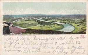 Scenic View of Moccasin Bend From Lookout Mountain, Near Chattanooga, Tenness...