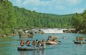 UNIONTOWN, Pennsyvania, 1940-60s; White Water boating on Youghlogheny River