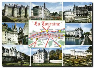 Postcard Ancient Wonders of Loire Valley Luynes ebateaux the city of Tours Ho...