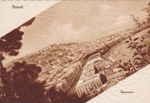Aerial, Panorama Of Napoli (Campania), Italy, 1900-1910s