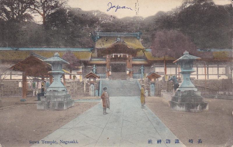 Suwa Temple , NAGASAKI , Japan , 1912