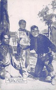 Buck Jones, Blood Will Tell Western Actor Mutoscope Unused