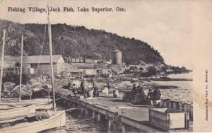 Jach Fish - Jackfish Fishing Village - Lake Superior, Ontario, Canada