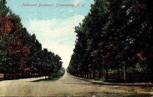 New York Schenectady Parkwood Boulevard 1909