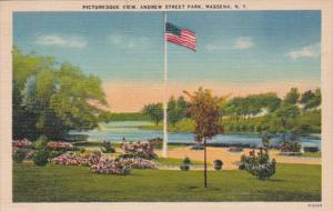 New York Massena Andrew Street Park 1956