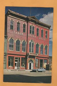 Tabor Opera House Vintage Postcard Lake County Leadville, Colorado