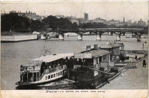 CPA Paris 6e Paris-La Seine au pont des Arts (312169)
