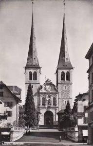 Schweiz Luzern Hofkirche Photo