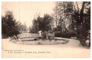 Connecticut Hartford  ,   Fountain in , Elizabeth Park