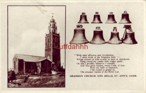 SHANDON CHURCH AND BELLS ST. ANN'S CORK IRELAND And thus grow fonder, sweet Cork