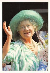 Postcard H.M Queen Elizabeth, The Queen Mother by J. Arthur Dixon Large Format