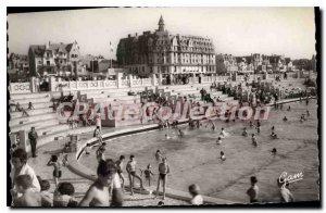 Old Postcard Le Touquet Paris Plage Navy Pool