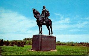 Virginia Manassas National Battlefield Stonewall Jackson Statue