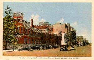 Canada -  ON, London. The Armouries, Hotel London, Dundas St