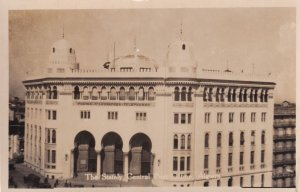 Algiers The Stately Central Post Office Real Photo Postcard